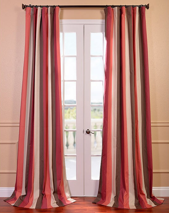 well maintained curtains