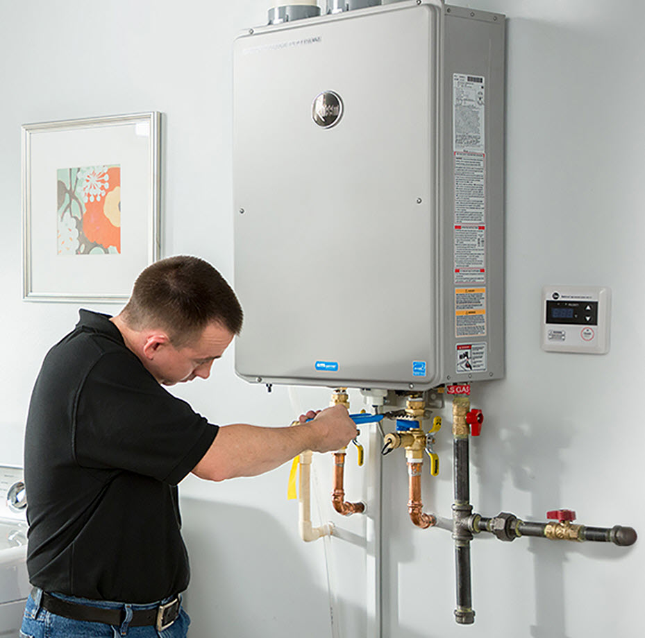 effective ways to install water heater