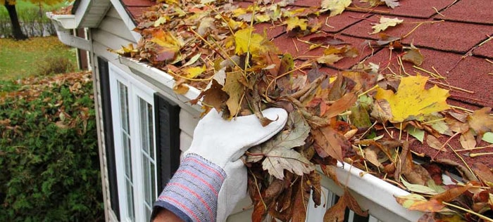Clean the gutters regularly