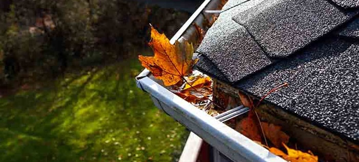 Keep the gutters clean