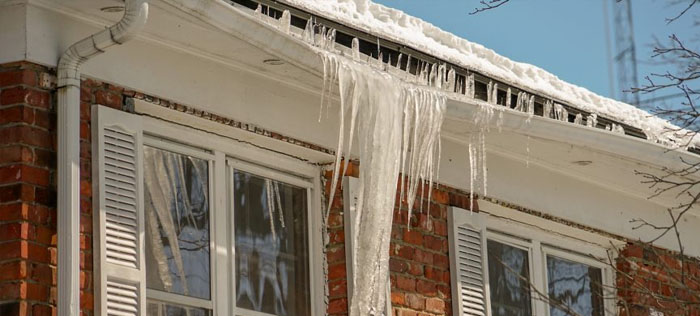 Reduce the risk of ice dams