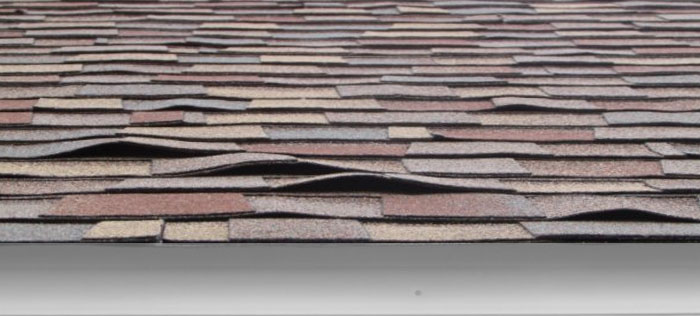 Replace the damaged shingles