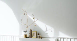 elegant contemporary christmas decorating