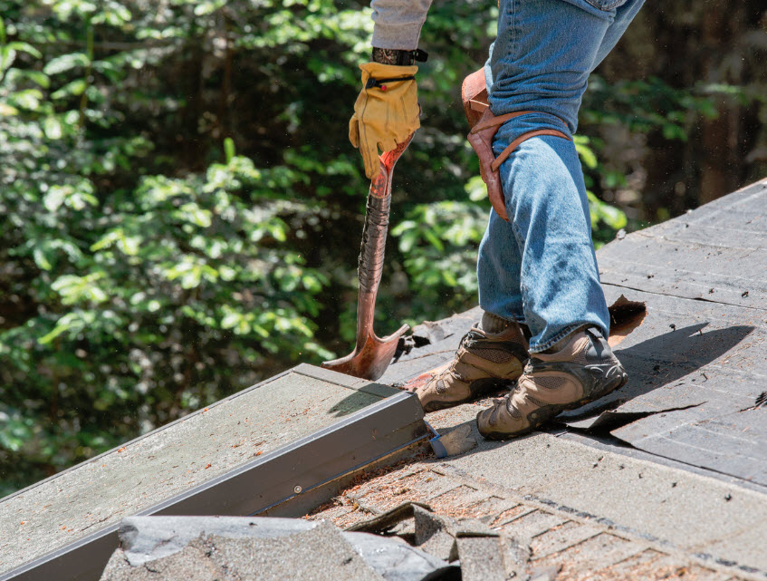 difference between reroofing and roof replacement