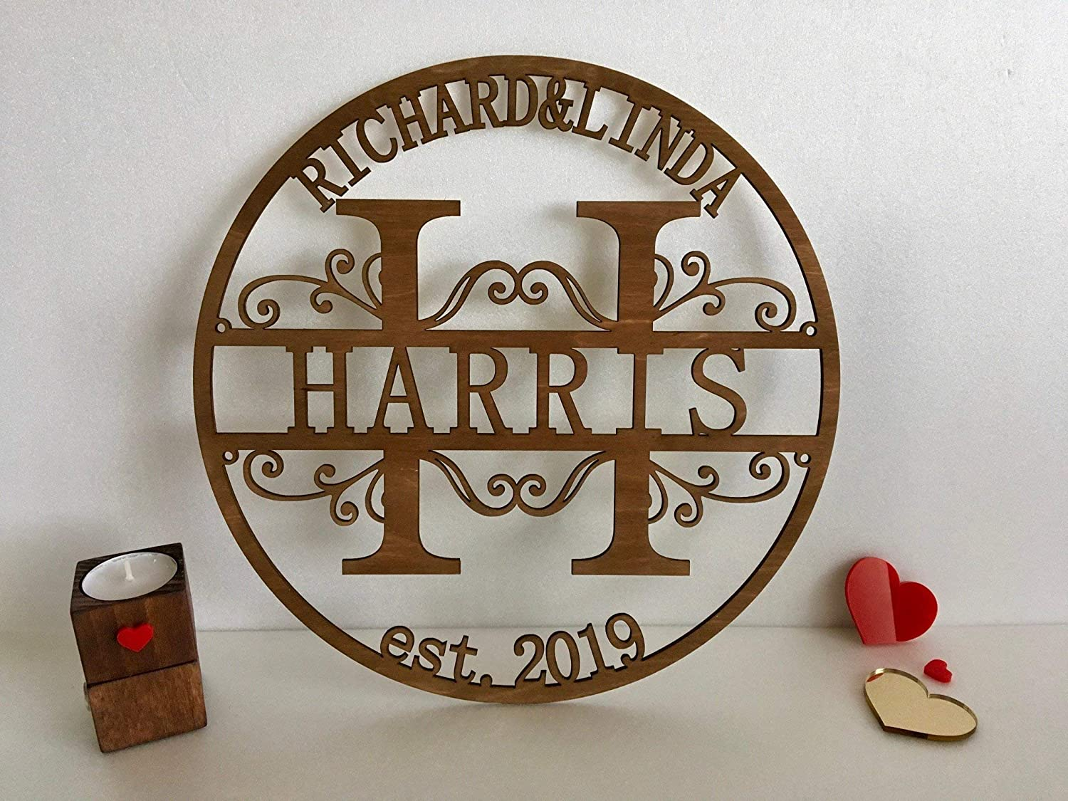 Personalized Laser Cut Signs Can Incorporate Farmhouse Style