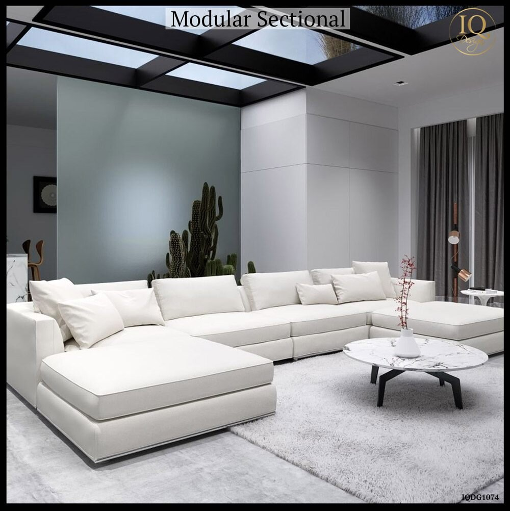 Modular sectionals - the modern day conversation pit